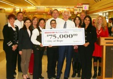 STATER BROS. CHARITIES CHECK FOR CITY OF HOPE