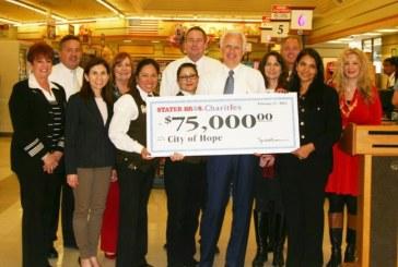 Stater Bros. Donates $75K To Geriatrics Department At City Of Hope