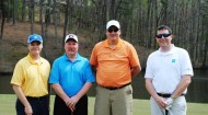 AGA golf group, afternoon first place team