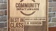 C.H. Robinson 2014 award