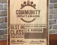 C.H. Robinson Recognized For Workplace Giving Campaign