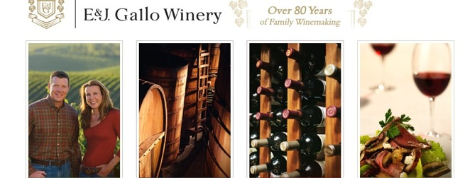 E.&J. Gallo Winery screenshot
