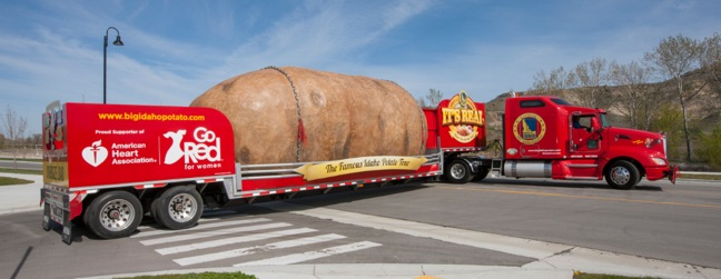 Idaho Potato Truck Hits Road For Third Tour To Promote Heart Health