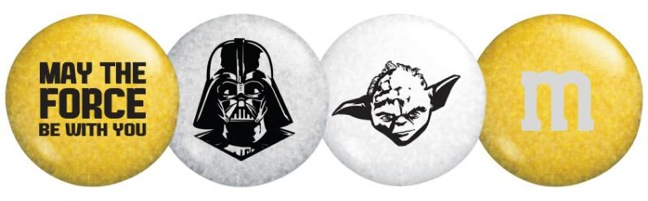 My M&M's Unveils Star Wars-Themed Products, Packaging For 'May The 4th'