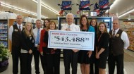 Stater Bros Charities Check Presented