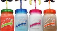 7-Eleven Inc Slurpee Jars Mustache Straws