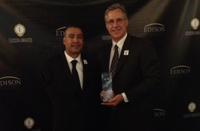 Acosta Receives Gold Edison Award For 2013 WWP Believe In Heroes Campaign