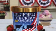 Red, White & Blue Bell Ice Cream