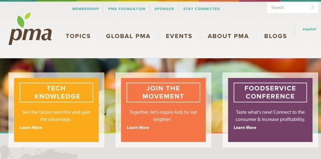 PMA Launches Redesigned Website