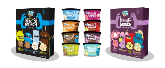 Dippin' Dots Rolls Out Dot Monster Munch Ice Cream Line