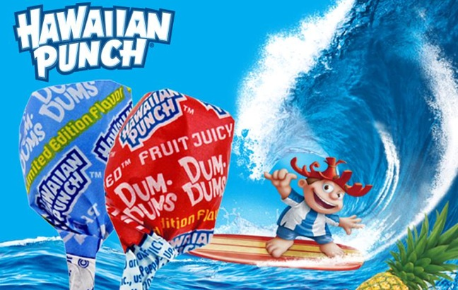 New Limited-Edition Hawaiian Punch Dum Dums Available Now