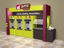 Yumz Express Kiosks To Be Offered At Gulf-Branded Retail Locations