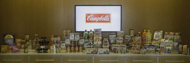 http://www.theshelbyreport.com/2014/07/23/campbell-plans-massive-fy15-product-launch-to-hit-10b-sales-goal/