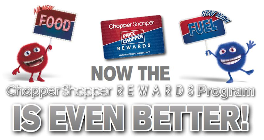 Price Chopper Adds Food Rewards To Chopper Shopper Card
