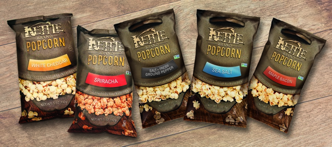 Kettle Brand Introduces Non-GMO Popcorn
