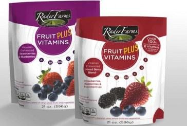 Inventure Foods Introduces Vitamin-Enhanced Rader Brand Frozen Fruit