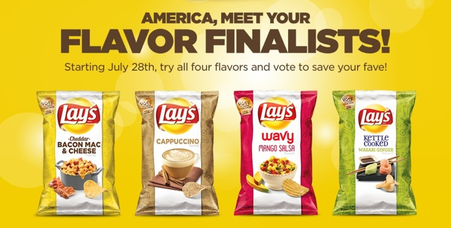 Lay's 'Do Us A Flavor' Chip Finalists Unveiled