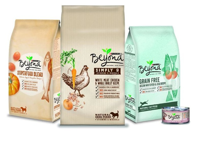 Purina Beyond Cat Food >> Purina Rolls Out Natural Dog And Cat Food Options With