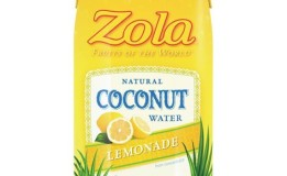 Zola Releases Coconut Water Lemonade