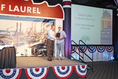 Matt Fuller - Meat Manager of the Year - St. Bernard Shurfine Foods