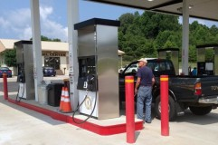Kentucky City's Public Fuel Sales