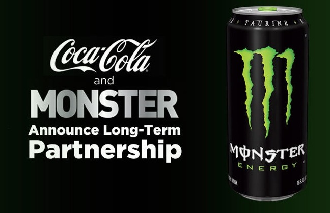 Coke and Monster partnership image