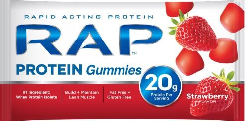 RAP Protein Gummies A Lighter, Sweeter Alternative To Bars