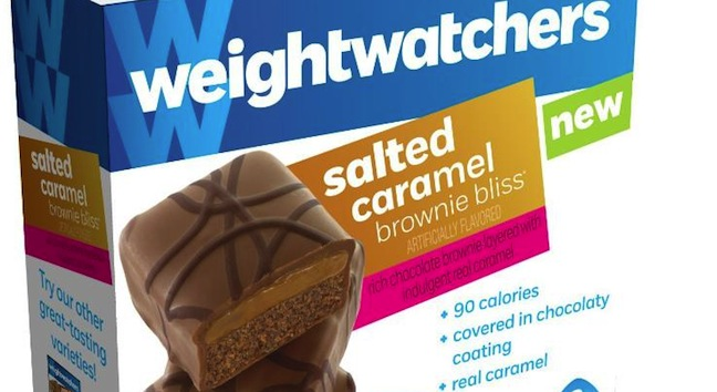 Weight Watchers Sweet Baked Goods Salted Caramel Brownie Bliss