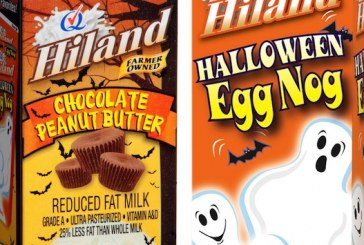 Hiland Dairy Rolls Out New Halloween Chocolate Peanut Butter Milk