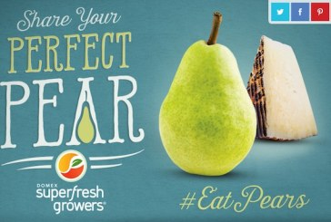 Domex Superfresh Growers Launches 'Perfect Pear' Social Sweepstakes