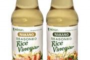 Nakano Introduces First Sweet Seasoned Rice Vinegar