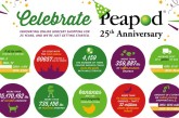 Peapod Turns 25 This Year, Celebrates Many Firsts