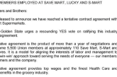 Save Mart, Union Reach Tentative Agreement