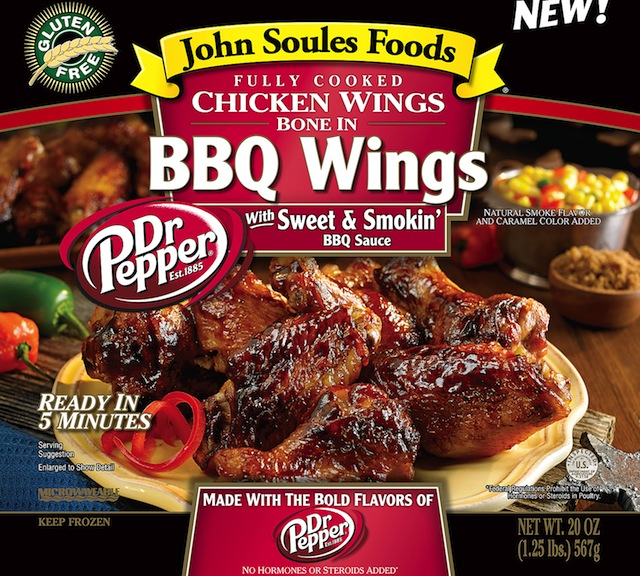 Dr Pepper BBQ Wings 20oz PDP