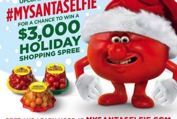NatureSweet Tomatoes Sponsoring Santa Selfie Hashtag Contest