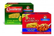 New World Pasta Introduces San Giorgio, Creamette Oven Ready Products
