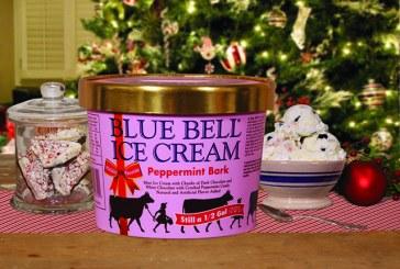 Blue Bell Introduces Peppermint Bark Ice Cream