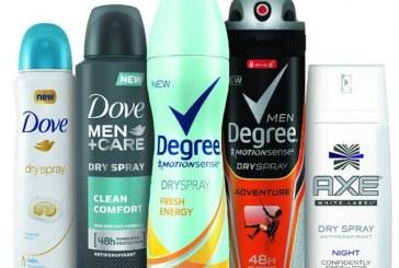 Unilever Launches New Dry Spray Deodorant Across Five Brands