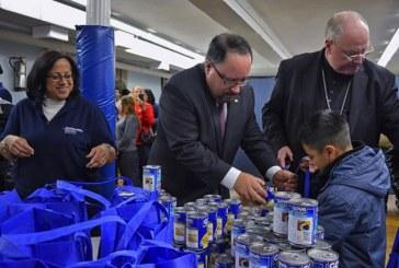 Goya Foods Donates 300K Pounds Of Food To Catholic Charities