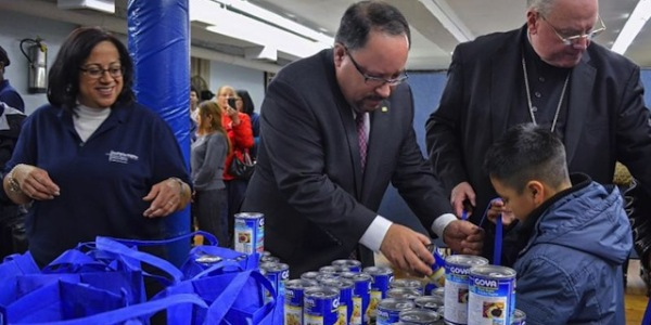 Goya Foods President and Cardinal Dolan