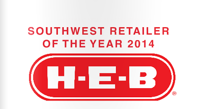 2014 Southwest Retailer Of The Year H E B