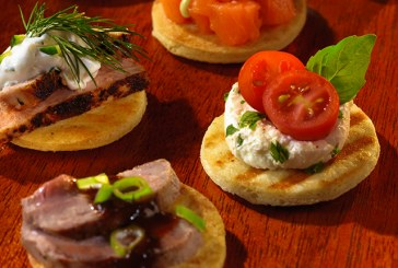 Kontos Foods Introduces Grilled Cocktail Flatbreads For The Holidays