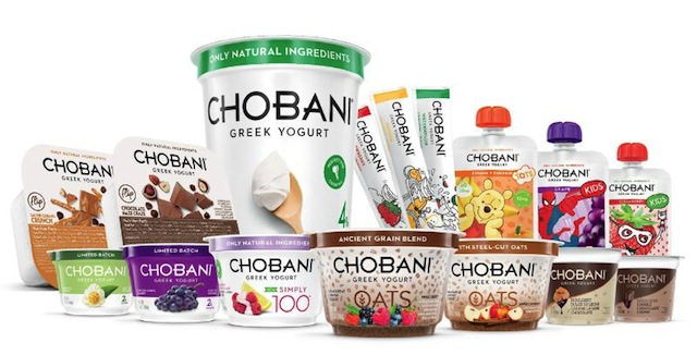 Chobani LLC new products