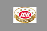 IGA Names 2015 Five Star Retailers