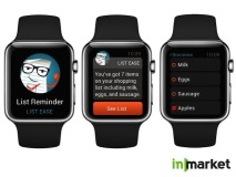 inMarket Apple Watch