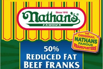 Nathan's Famous Offers 50% Reduced Fat Beef Franks, Updates Packaging