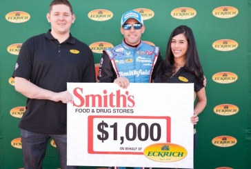 Military Family Honored By Eckrich, Smith's And NASCAR Driver Almirola