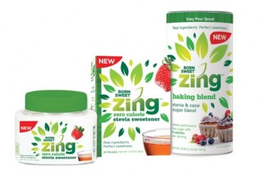 Domino Foods Rolls Out Born Sweet Zing Stevia Sweetener