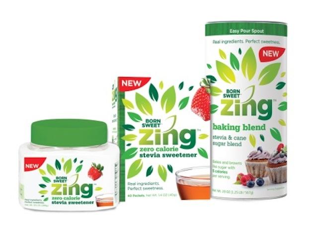 Zing Stevia Sweetener Ingredients