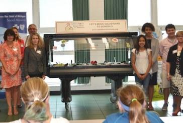 Meijer, Blue Cross Blue Shield Of Michigan Support 20 Salad Bars For Schools
